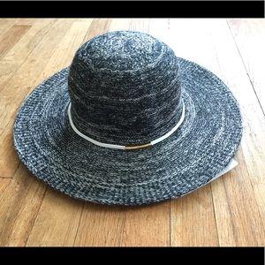 Accessories - NWT Ultra Rare Sample Black Boho Summer Hat